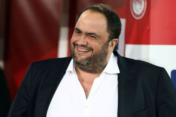 Evangelos Marinakis praised for wildfires donation by Nottingham Forest legend