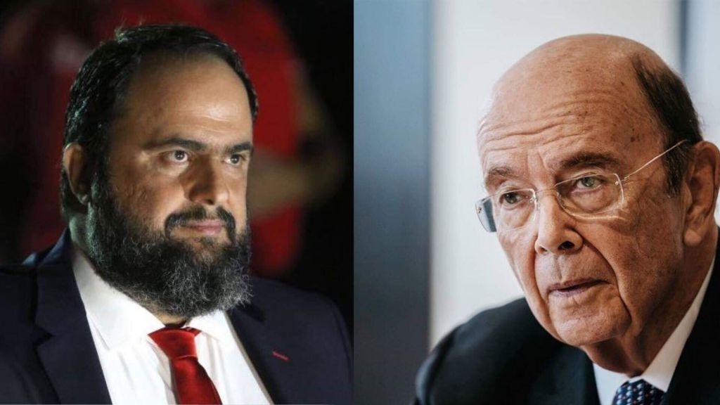 Κοινή στρατηγική κίνηση (συνεταιρισμός) εταιριών συμφερόντων Ευάγγελου Μαρινάκη – Wilbur Ross
