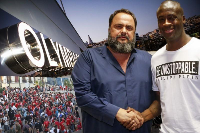 Ο Μαρινάκης ανεβάζει το Ελληνικό ποδόσφαιρο με τον Τουρέ
