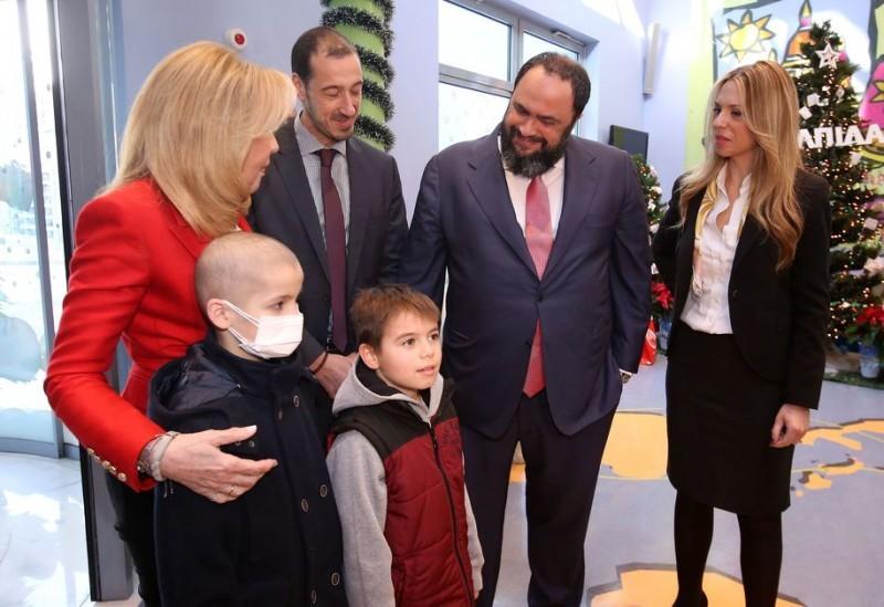 Evangelos Marinakis Renews Groundbreaking Partnership With UNICEF