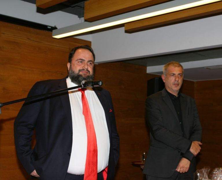 Marinakis: 'A message of resistance against the sell-out of the country'