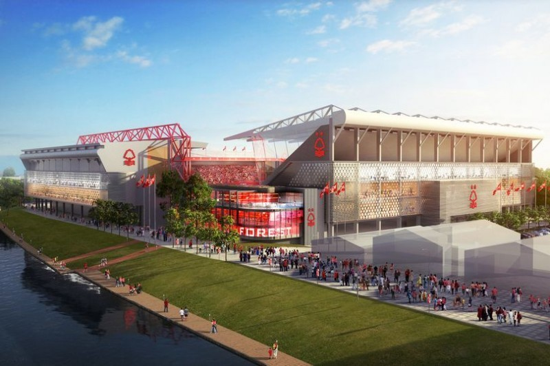 With Nottingham Forest stadium plans, Evangelos Marinakis is sending out a clear message: We are here to stay - in more ways than one