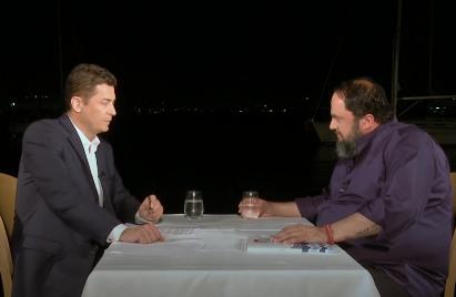 Βαγγέλης Μαρινάκης: «Δεν έχω μάθει να με φτύνουν και να σκύβω το κεφάλι»