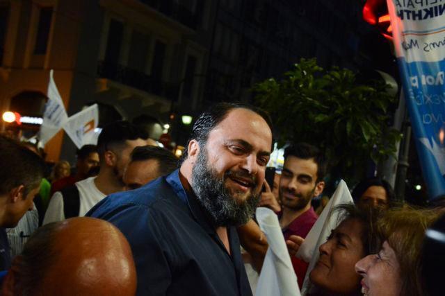 Marinakis calls on Piraeus residents to unite after Moralis' re-election