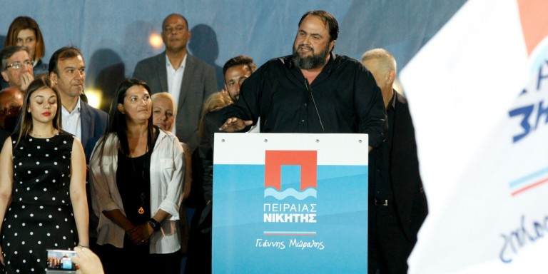 Marinakis garners record 15,816 votes in Piraeus City Council race