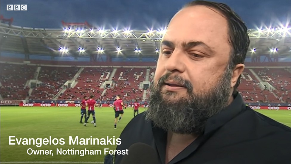 Evangelos Marinakis: Nottingham Forest owner 'obliged' to win promotion