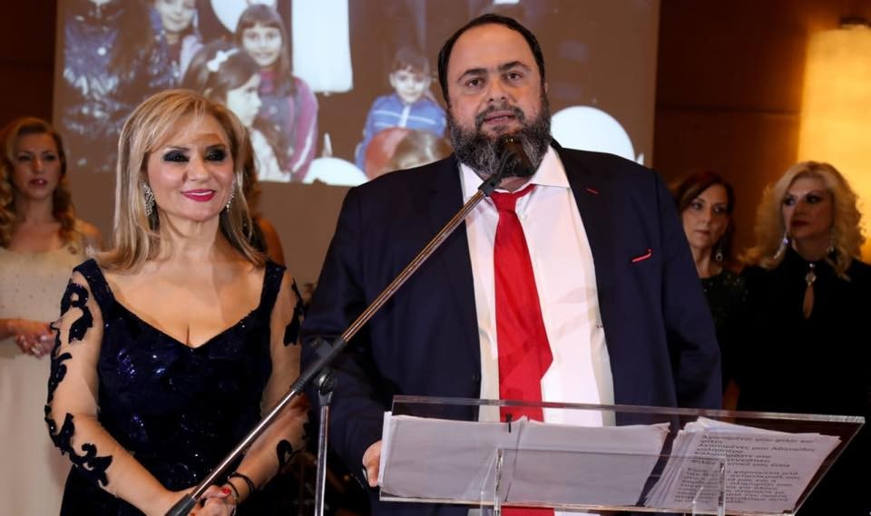 The «Athenaides» honored Evangelos Marinakis for his social contribution
