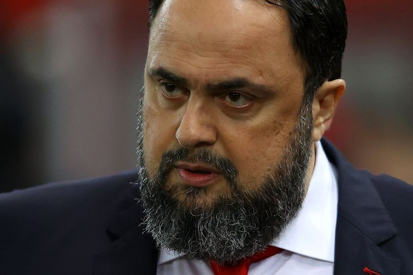Nottingham Forest owner Evangelos Marinakis speaks about coronavirus experience as he makes donation
