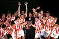 Olympiacos won the 15th double of its history and its 1st under the leadership of Evangelos Marinakis.