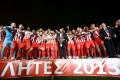 Olympiacos won the 41st championship of its history and its 4th in a row under the leadership of Evangelos Marinakis.