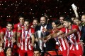 Olympiacos won the 44th championship of its history and its 7th in a row under the leadership of Evangelos Marinakis.