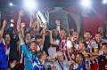 Olympiacos won the 18th double of its history and the fourth under the leadership of Evangelos Marinakis.